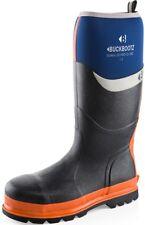 Buckler Buckbootz BBZ6000 S5 HRO SRC K3 sole blue safety knee wellington 5-13