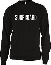 Surfboard Surfing Drunk In Love Song Lyrics Long Sleeve Thermal