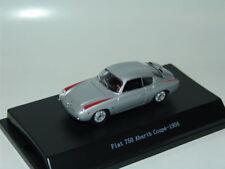 FIAT 750 ABARTH COUPE 1956 SILVER 1:43 STARLINE