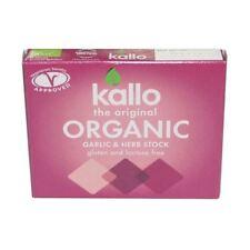 Kallo Organic ail & fines herbes Stock Cubes 66 g
