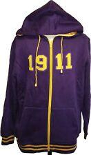 Buffalo Dallas Omega Psi Phi 1911 Applique Zip-Up Mens Hoodie