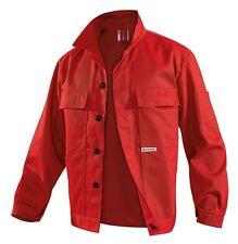 Bundjacke Arbeitsjacke Gr.44-62 rot Berufsjacke Jacke Blouson Sanitäter NEU TOP