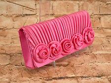 Handtasche Clutch Damentasche Tasche Umhängetasche Abendtasche Rosa