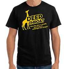 Deep Throat | Deepthroat | jirafa | Fun | Adult | proverbios | S-XXL T-Shirt