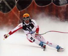 HERMAN MAIER DOWN HILL SKIING LEGEND 8X10 PHOTO #O