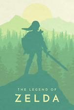 La Leyenda de Zelda Nintendo juego Poster Print T1029   A4 A3 A2 A1 A0  