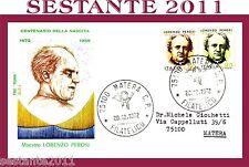 ITALIA FDC ROMA, MAESTRO LORENZO PEROSI 1972 , ANNULLO ROMA,  A69