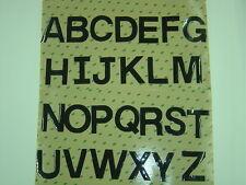 Motocross Letters A B C D E F G H J K L M N P Q R S T U V W X  Y Z Vintage AHRMA