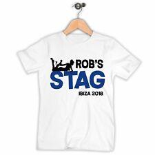 Personalised Stag Do T-shirts, Custom Boys Holiday Tshirts Club Abroad Funny