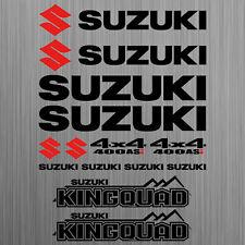 SUZUKI KINGQUAD 400 ASi LT-A400 sticker quad ATV 14 Pieces