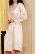 NWT Silk Womens Lingerie Sheer Nighty-Robe Set