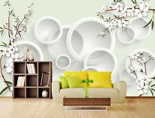 3D Albero,Modello Parete Murale Foto Carta da parati immagine sfondo muro stamp