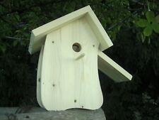 Nistkasten/Vogelhaus Schmetterlingshaus Reinigungsklappe Bausatz selbstbemalen