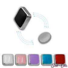 1 Paar Fake Plug Magnet  Expander Kinder  ohne Ohrlochstechen