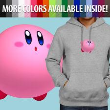 Kirby Nintendo Game Puffball Kawaii Puff Ball Pullover Sweatshirt Hoodie Sweater