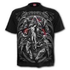 SPIRAL DIRECT REAPER'S DOOR T-Shirt Biker/Grim Reaper/Skull/Gothic/Top/Tee/Death