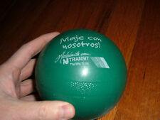 Vintage NJ TRANSIT Spanish PLASTIC Toy Ball Viaje Con Nosotros Rare Promo item
