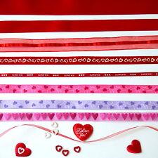 0,55Euro/Meter Love/Liebe/Herz Geschenkband-Valentinstag/Hochzeitstag/Deko