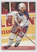 1995 Leaf Elit Set Sweden #94 Mattias Bosson Malmö Redhawks (HockeyAllsvenskan)