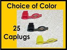 Grease Zerk Dust Caps caplugs 25 RED