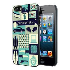 Supernatural Collage Art Custom Phone Case Cover iPhone 6 PLUS 6 5 5s 4 4 iPod