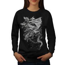 Dragon Gang Mob Crew Women Sweatshirt NEW | Wellcoda