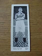 1937 Topical Times Minature Panel Portrait: Charlton Athletic - Boulter, Leslie.