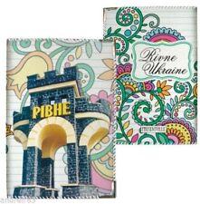 Passport cover Rivne Rovno Ровно Ukrainian souvenir 9,3 х 13 сm