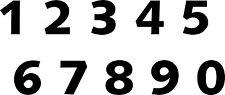 Aufkleber Sticker Tattoo - Zahl/ Ziffer in 6 cm Höhe glänzende Folie-Artikel 822