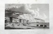 KENT DOVER ESPLANADE original  Antique Print 1830