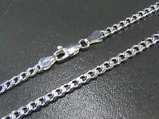Panzerkette Silberkette 4mm Massiv Echt 925 Silber verschiedene Längen lieferbar