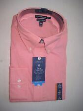 Croft&Barrow TRUE COMFORT LS BUTTON DOWN COLLAR CAMELLIA Checks Men's Shirt $45