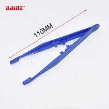 Handwerkzeuge Treu 2 Pcs 13 Cm Länge Schwarz Anti-statische Gerade Gebogen Pinzette Werkzeuge
