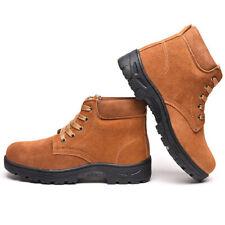 Bottes de travail de sécurité, chaussures de travail en acier à embout