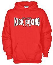 Felpa Kick Boxing P37 Arti Marziali Pugilato Boxe Hoodie Muay Thai MMA