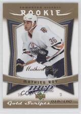 2007-08 Upper Deck MVP Gold Scripts #334 Mathieu Roy Edmonton Oilers Hockey Card