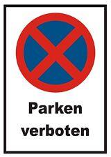 Parken verboten Schild, Halteverbot, Parkverbot, STVO, Kein Parkplatz, Verbot