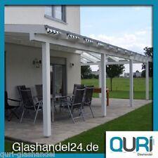 Terrassenüberdachung Holz mit Glas VSG Breite + Tiefe frei Wählbar VSG 8