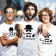 JGA Junggessellenabschied Bräutigam Braut Team Fun T-Shirt Hochzeit Shirt S414