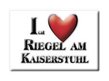 DEUTSCHLAND SOUVENIR - BADEN WÜRTTEMBERG MAGNET RIEGEL AM KAISERSTUHL (EMMENDING