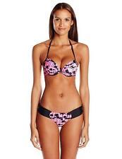 4164402914d47 Corona Push Up Swimsuit Fashion Pink Summer Halter Bathing Suit Bikini Set  P3752