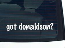 got donaldson? Family Tree Reunion Last Name Surname Decal Sticker Car Vinyl