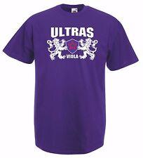 T-shirt Maglietta J1595 Ultras Viola Fiorentina Curva Fiesole Firenze Collettivo