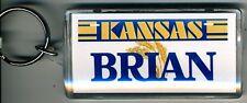 KANSAS NAME KEYCHAIN BRIAN (LN-04-467)