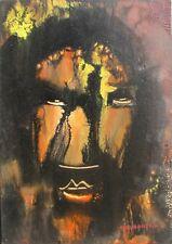 GIANDANTE X (Pescò Milano 1899-1984) VOLTO CAPOLAVORO su cartone cm35x50 anni'60
