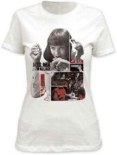 Pulp Fiction Mia Junior T-Shirt  - Crime film Quentin Tarantino black comedy