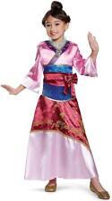 Mulan Deluxe Disney Princess Geisha Fancy Dress Halloween Toddler Child Costume