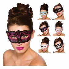 Verona Eyemask Masquerade Ball Open Fancy Dress Burlesque Eye Face Mask Ladies