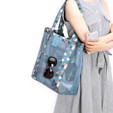 Women Shopping Mesh Shoulder Bags Handbag Beach Sand Away Carry Bag Large Tote