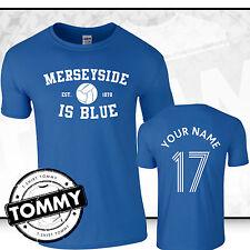 Merseyside is Blue! Funny Rivals Everton T-Shirt, everton tshirt, EFC Toffees